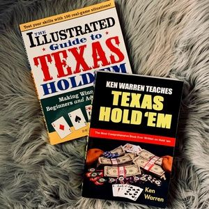 Texas Hold'em book bundle x2